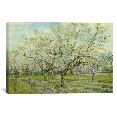 """The White Orchard"" by Vincent van Gogh Canvas Wall Art"