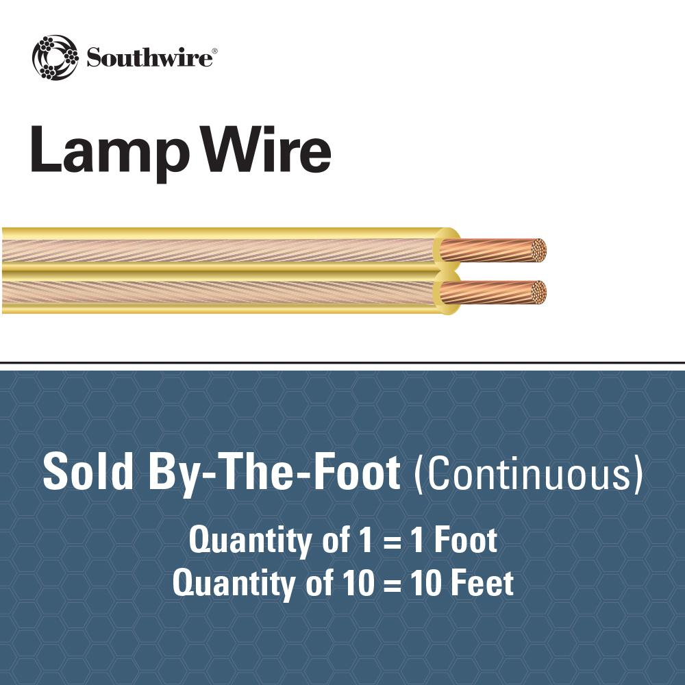 CLOTH 2 wires per foot-18//2 LAMP ac cord,BLUE