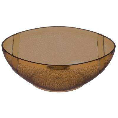 5.25 in. x 1.75 in. Football Plastic Bowl