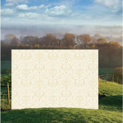 Augusteen Damask White Strippable Wallpaper Covers 56.4 sq. ft.