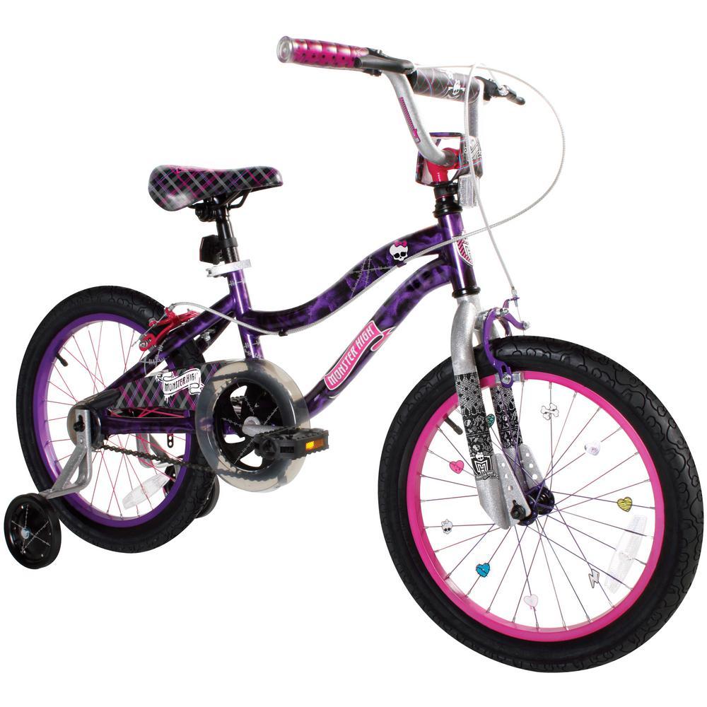 18 in. Kids Monster High Bike