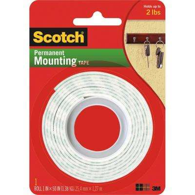 1 in. x 50 in. Indoor Mounting Tape
