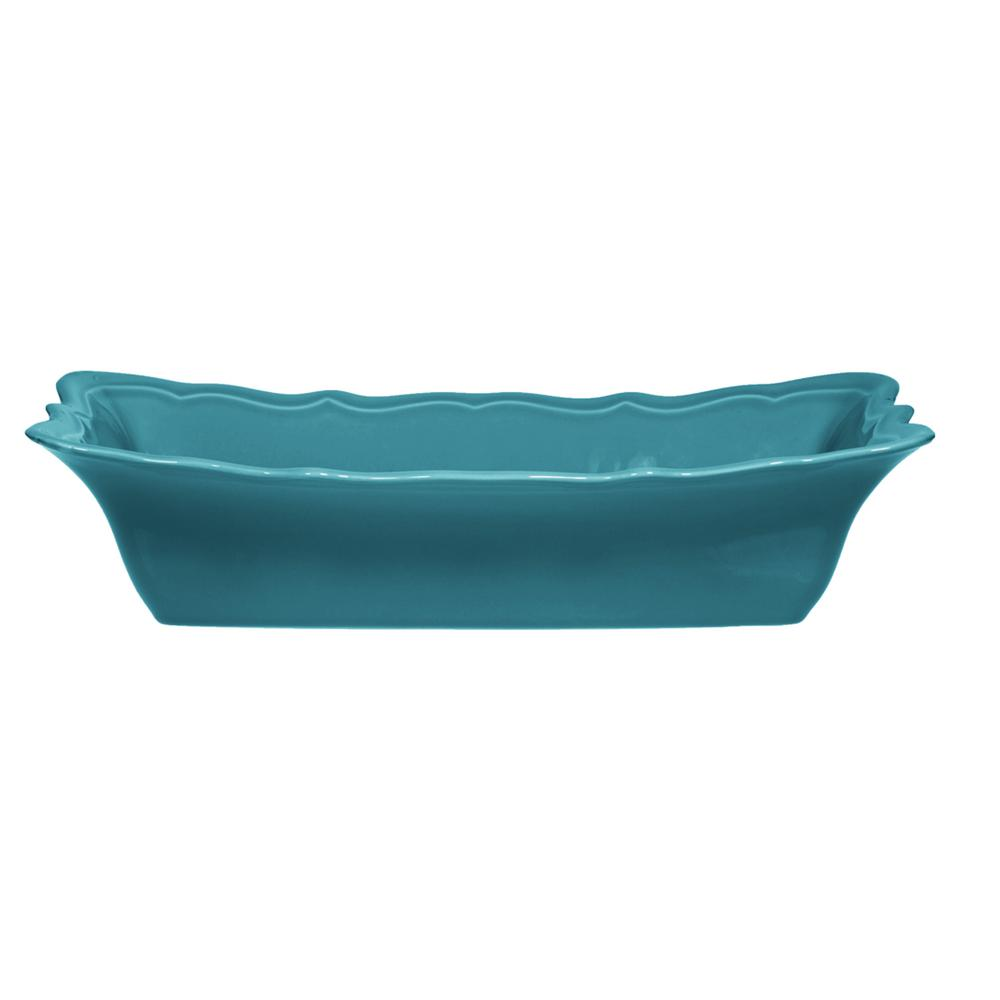 12.75 in. L Blue Loaf Pan