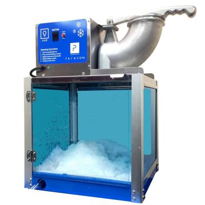 Arctic Blast 8000 oz. Blue Stainless Steel Countertop Snow Cone Machine