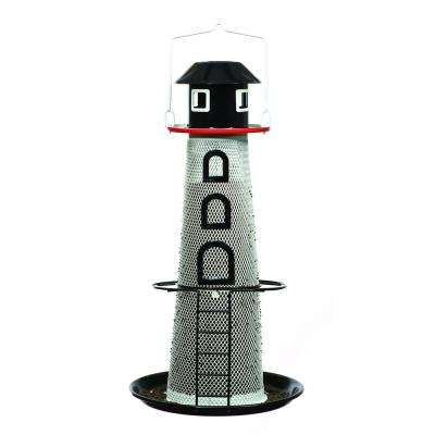 Solar Lighthouse Finch Feeder