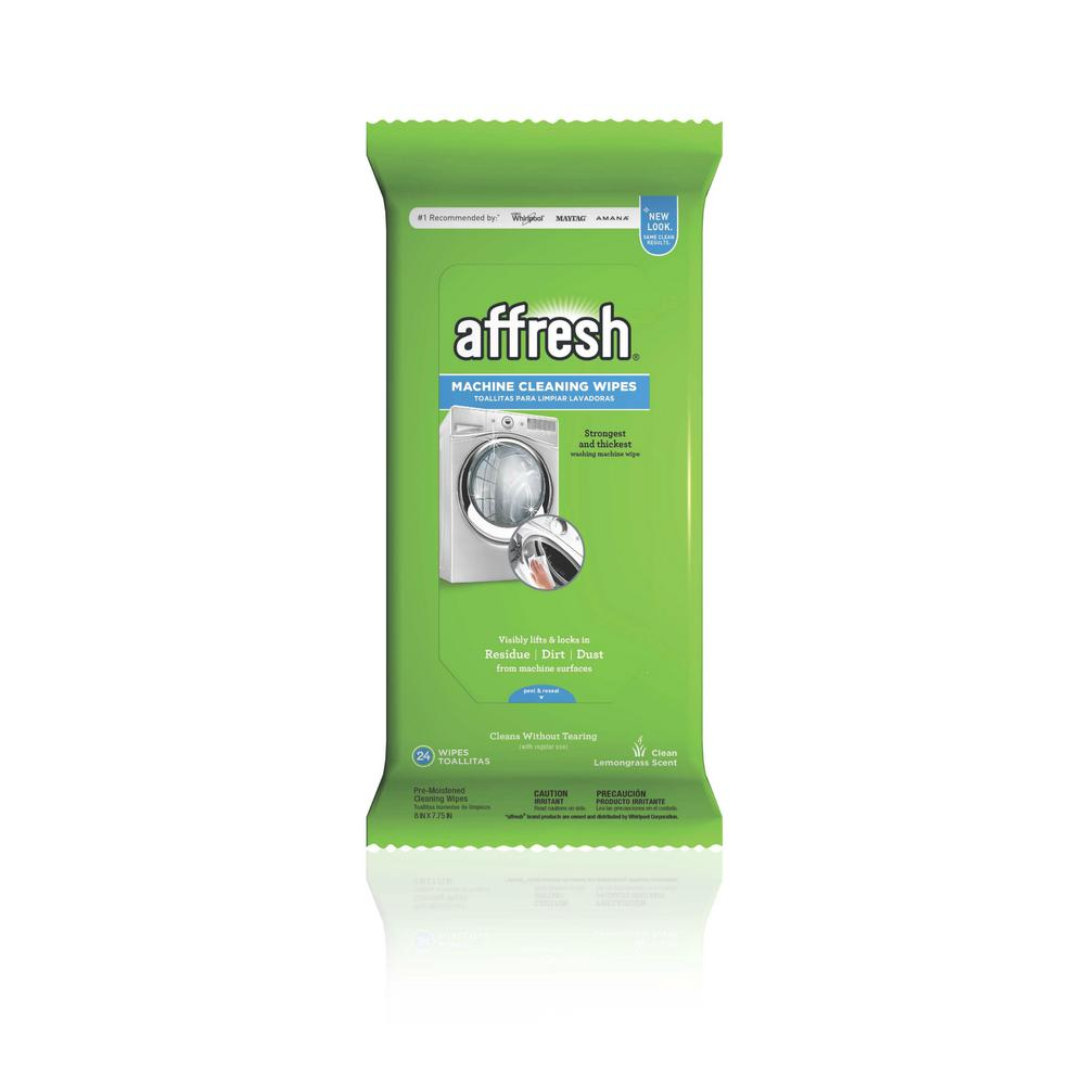 affresh machine cleaning wipes 24 count w10355053 the home depot