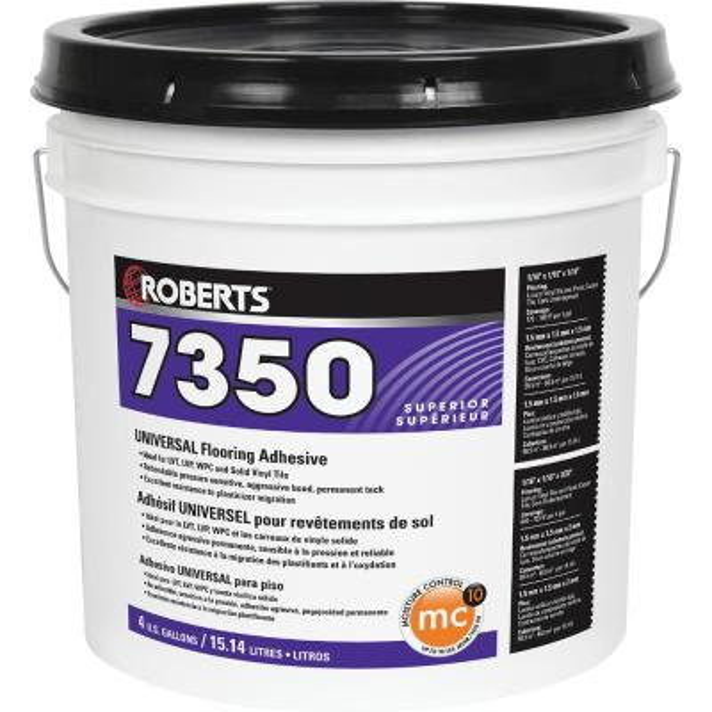 7350 4 Gal. Universal Flooring Adhesive