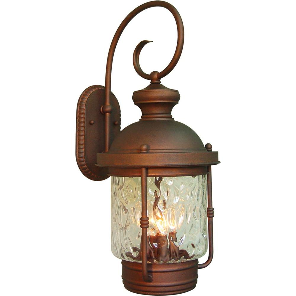 Volume Lighting 4-Light Burnished Bronze Outdoor Wall Mount-V8154-42 ...