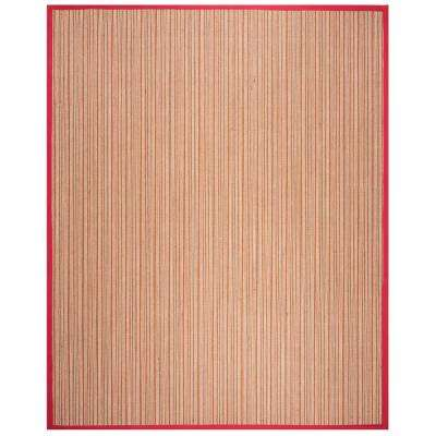 Red Sisal Area Rugs Rugs The Home Depot