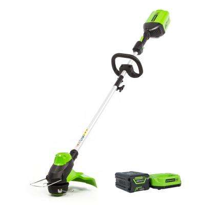 PRO 60-Volt Cordless String Trimmer with 2.0 Ah Battery and Charger ST60B211