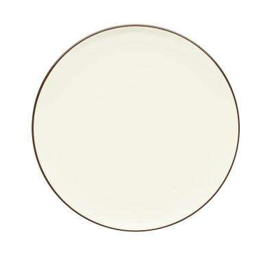 Colorwave  10.5 in. Chocolate Coupe Dinner Plate