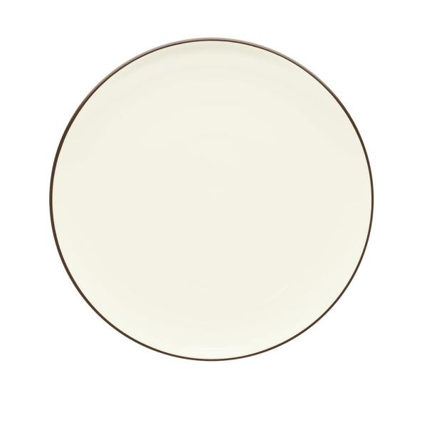 Noritake Colorwave 10.5 in. Chocolate Coupe Dinner Plate 8046-406