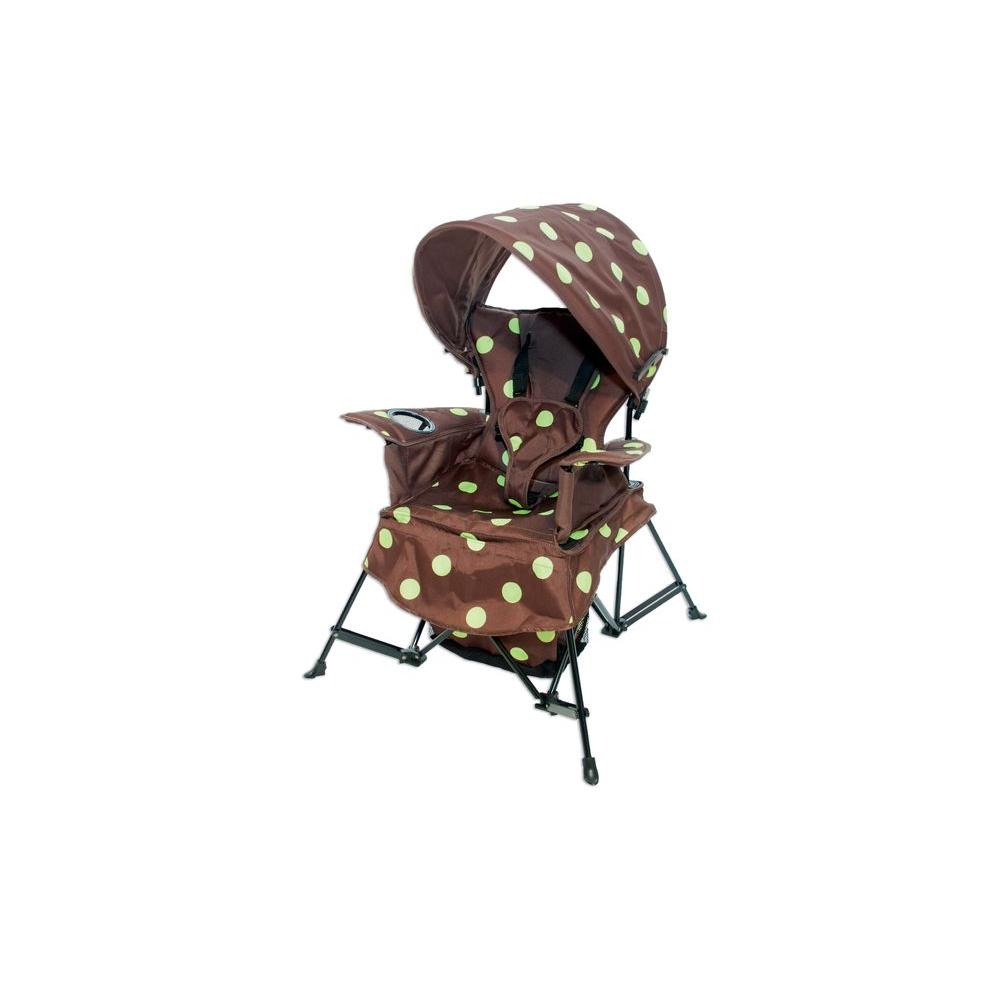 Kelsyus Folding Go with Me Chair with Blue Dot Print