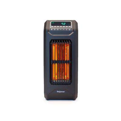 3-Wrapped Element Infrared Portable Vertical Tall Heater