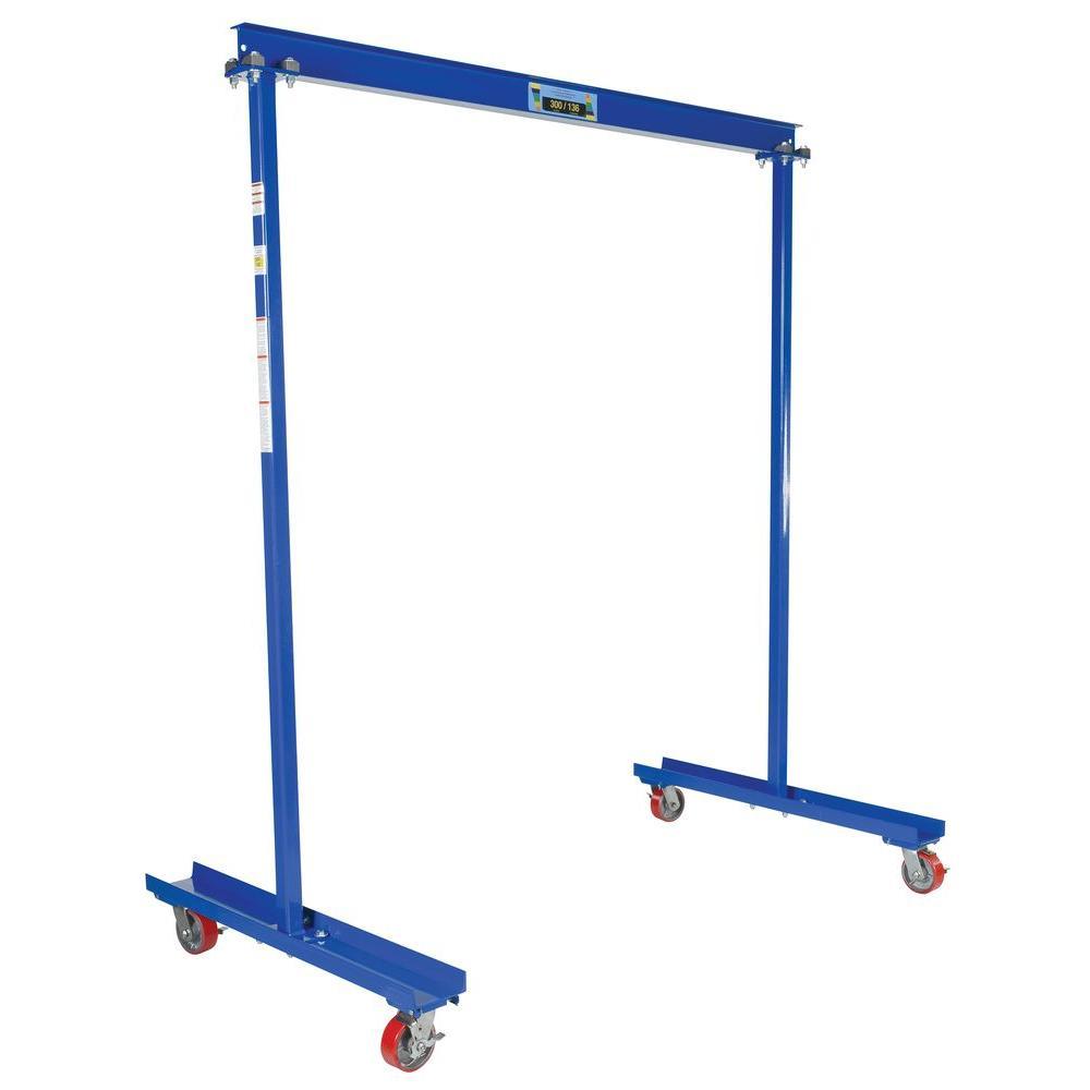 Portable Hvac Lifts : Vestil lb capacity portable work area gantry crane
