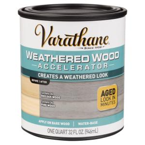 weathered wood accelerator