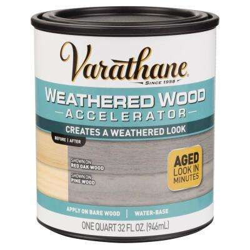1 qt. Interior Weathered Wood Accelerator