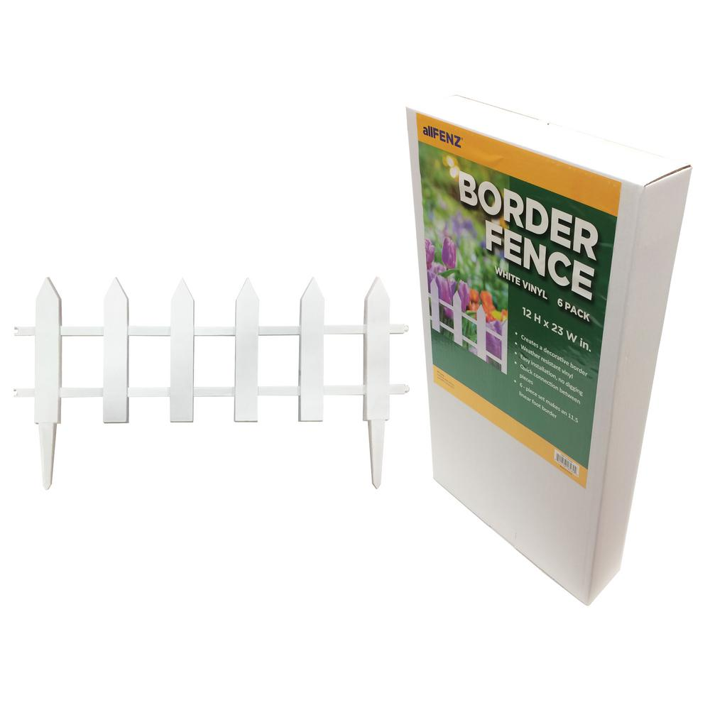 Border Fence - Garden Fence Panels - Landscaping - The Home Depot