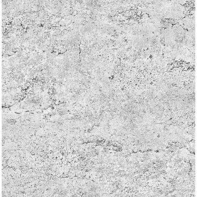 Light Grey Concrete Rough Industrial Wallpaper Sample