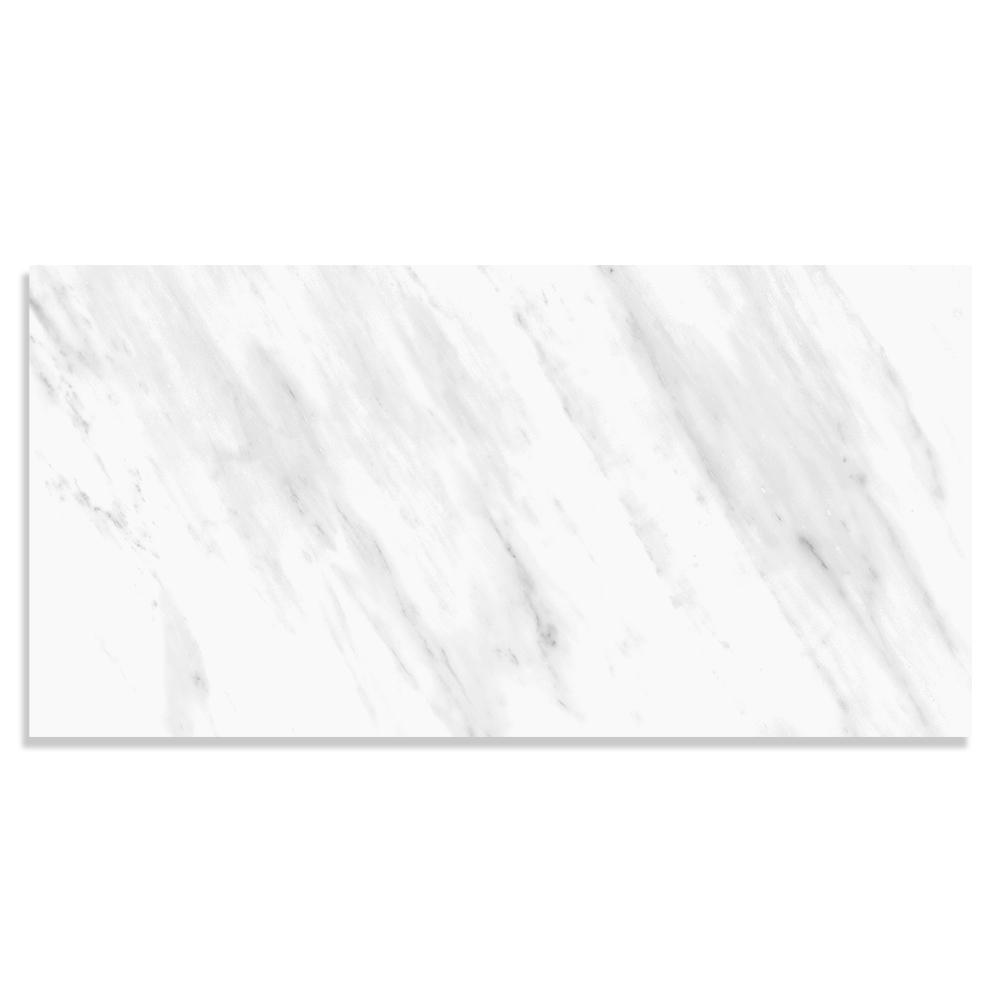 Corso Italia Impero Volakas 12 in. x 24 in. Porcelain Floor and Wall Tile (15.5 sq. ft. / case)