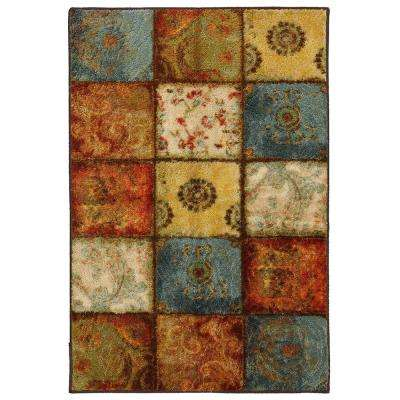 Artifact Panel Multi 8 ft. x 10 ft. Area Rug