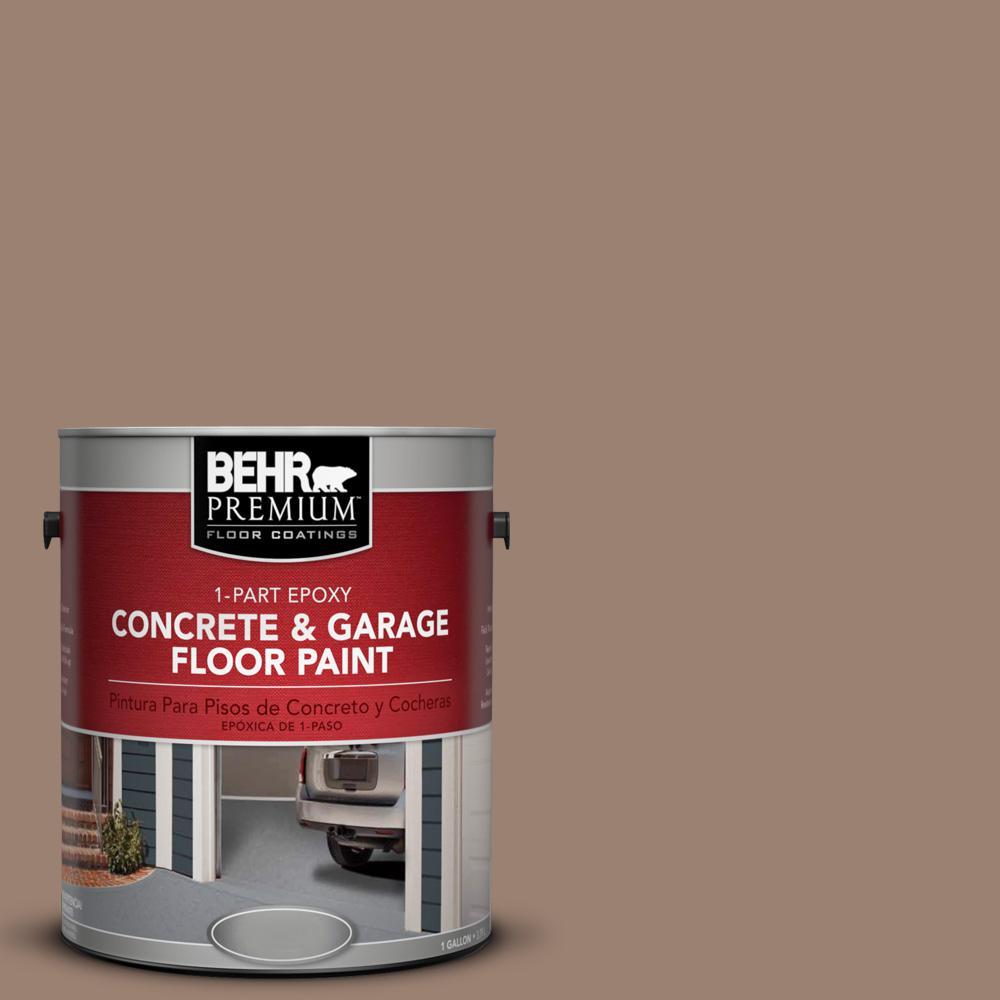 1 gal. #N190-5 Frontier Brown 1-Part Epoxy Concrete and Garage Floor