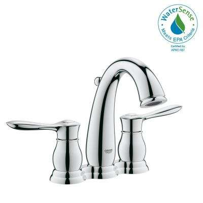 Parkfield 4 in. Centerset 2-Handle 1.2 GPM Bathroom Faucet in StarLight Chrome
