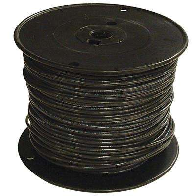 30 wire electrical the home depot 30 black stranded cu simpull thhn wire greentooth Gallery