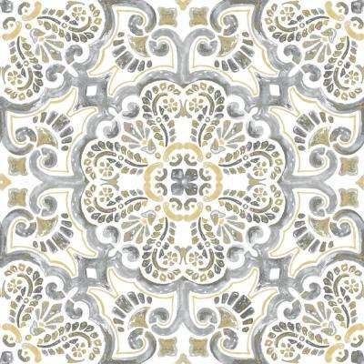 12 in. x 12 in. Antico Peel and Stick Floor Tiles (20 Tiles, 20 sq. ft.)