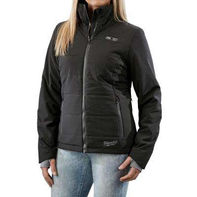 Women's X-Large M12 12-Volt Lithium-Ion Cordless Black Heated Jacket Kit (Battery and Charger Included)