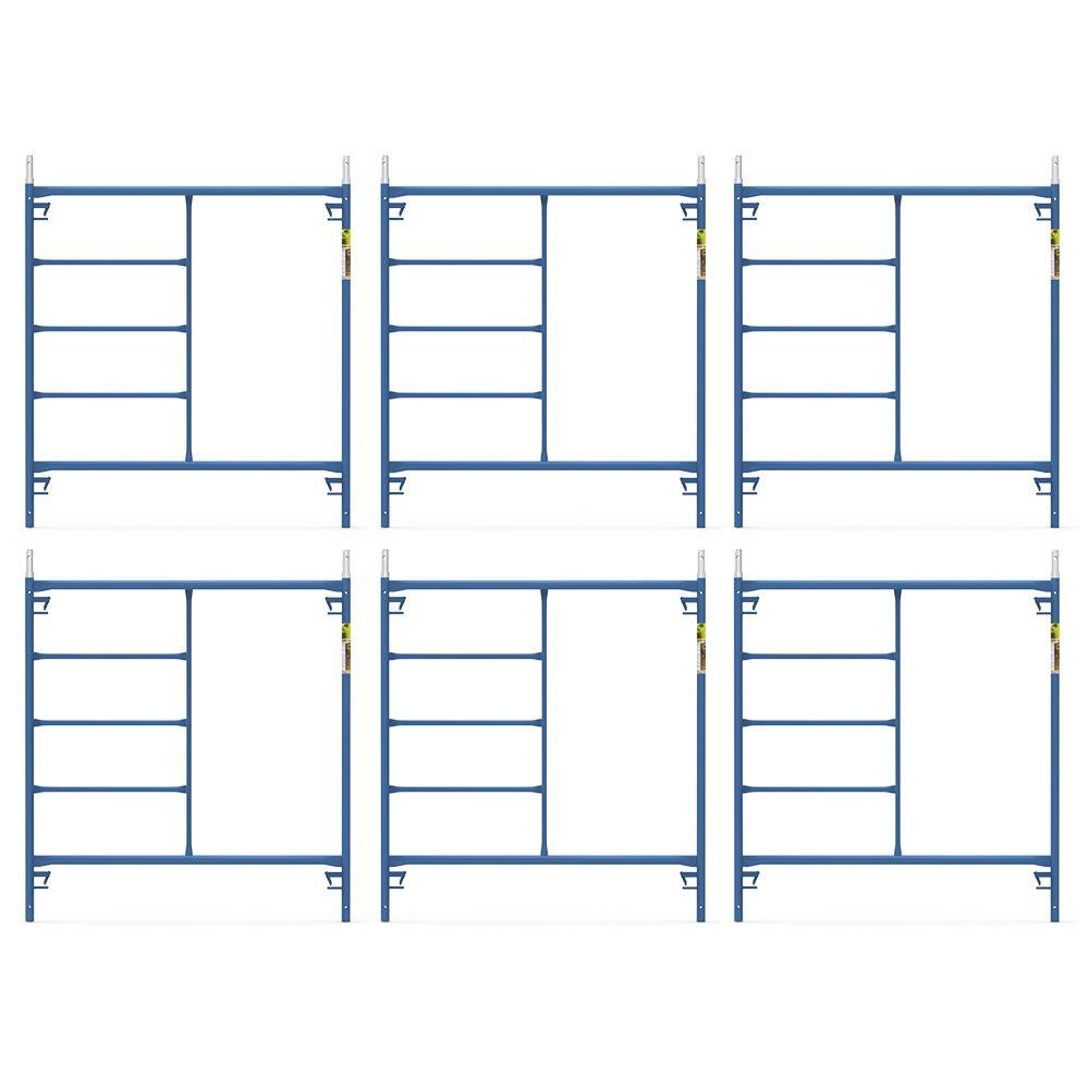 Saferstack 5 ft. x 5 ft. Mason Scaffold Frame (6-Pack)
