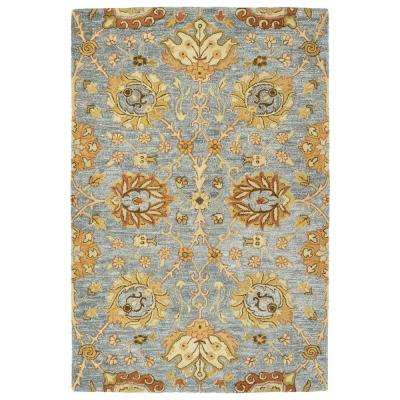 Brooklyn Slate 5 ft. x 7 ft. 6 in. Area Rug