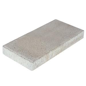 16 in. x 8 in. x 1.75 in. Pewter Concrete Step Stone
