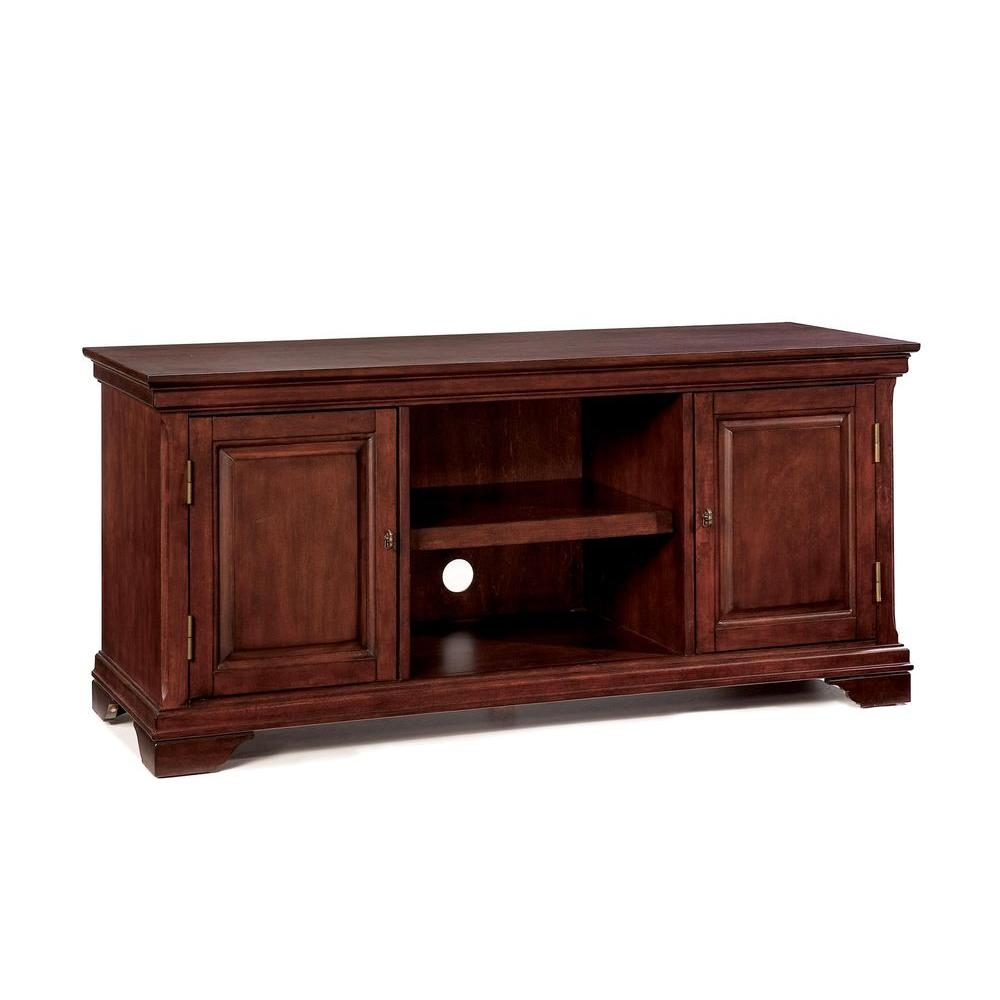 Home Styles Lafayette Cherry TV Stand-DISCONTINUED