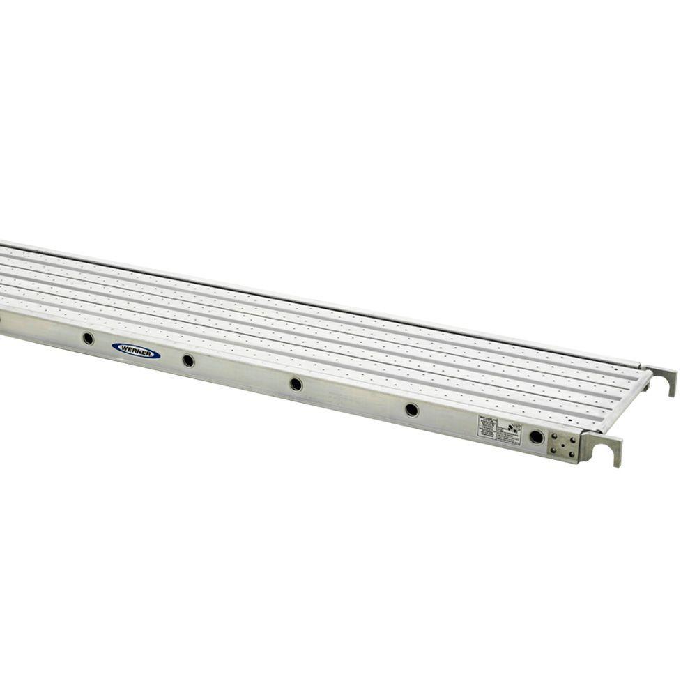 8 ft. Aluminum Decked Aluma-Plank with 250 lb. Load Capacity