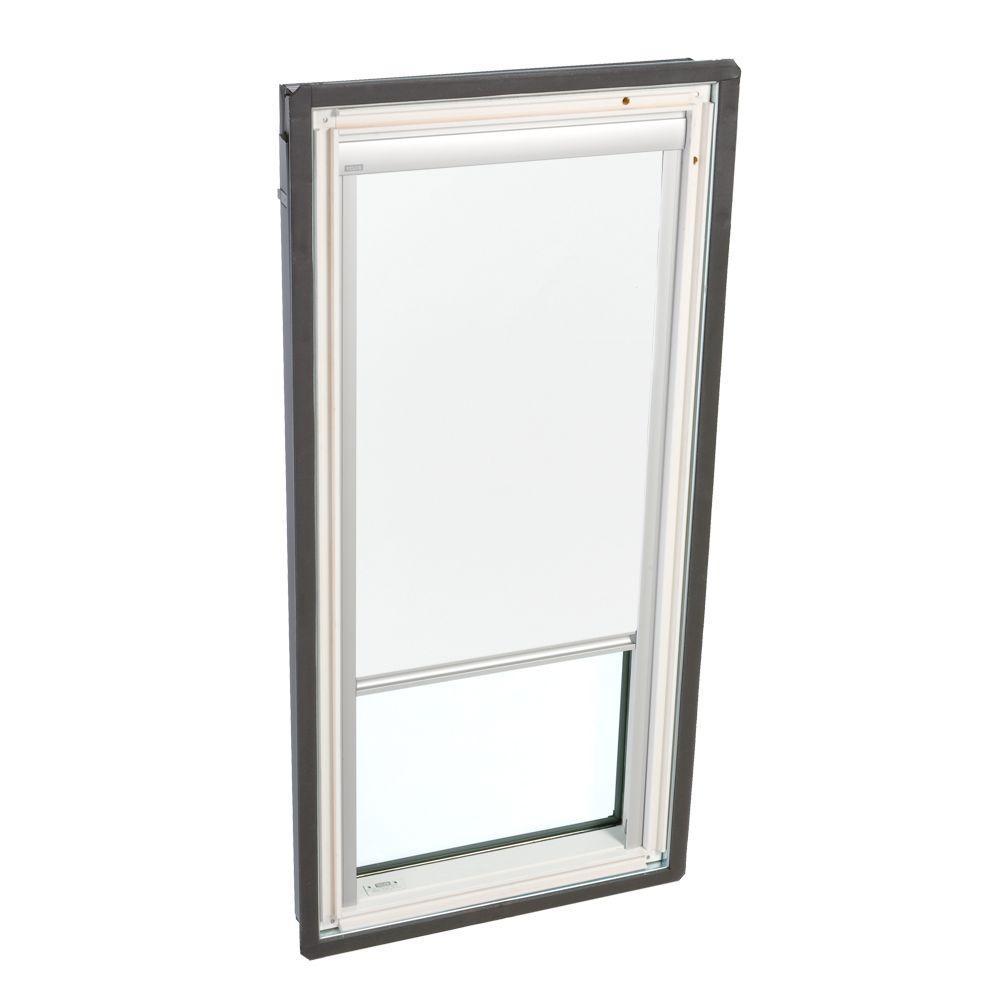 VELUX White Manually Operated Light Filtering Skylight Blind for FS C06 Models