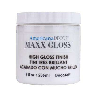 Americana Decor Maxx Gloss 8 oz. White China Paint