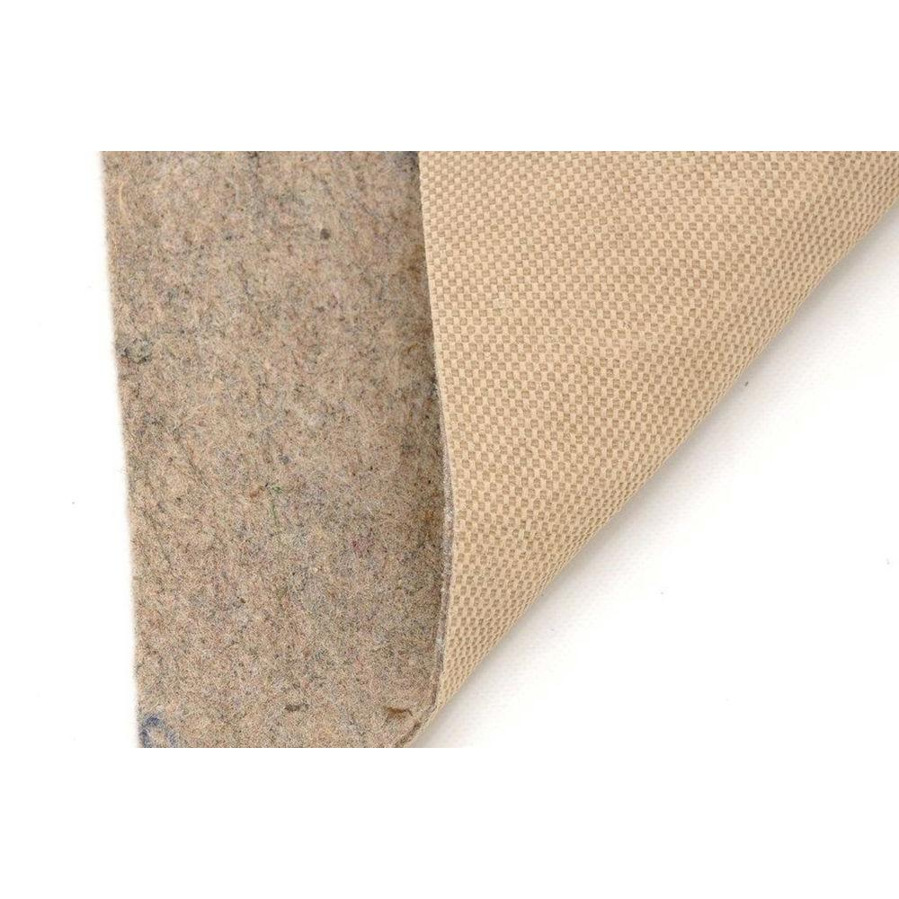 American Slide-Stop All-Surface Thin Profile 4 ft. x 6 ft. Fiber and Rubber Backed Non-Slip Rug Pad