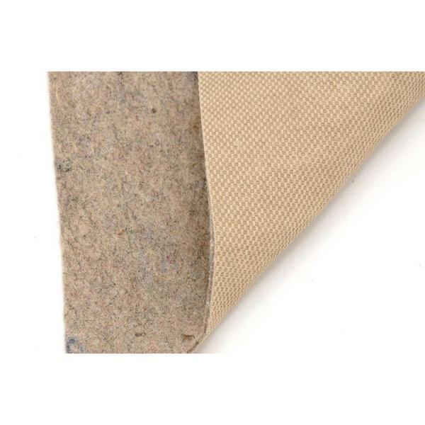 All-Surface Thin Profile 5 ft. x 8 ft. Fiber and Rubber Backed Non-Slip Rug Pad