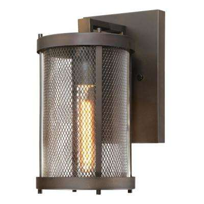 Skyview 1-Light Oil Rubbed Bronze Outdoor LED Wall Lantern