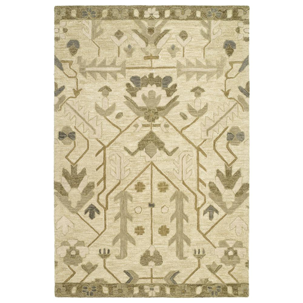 Brooklyn Olive 5 ft. x 7 ft. 6 in. Area Rug