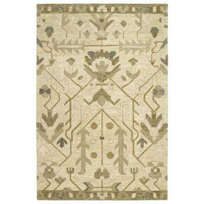 Brooklyn Olive 5 ft. x 8 ft. Area Rug