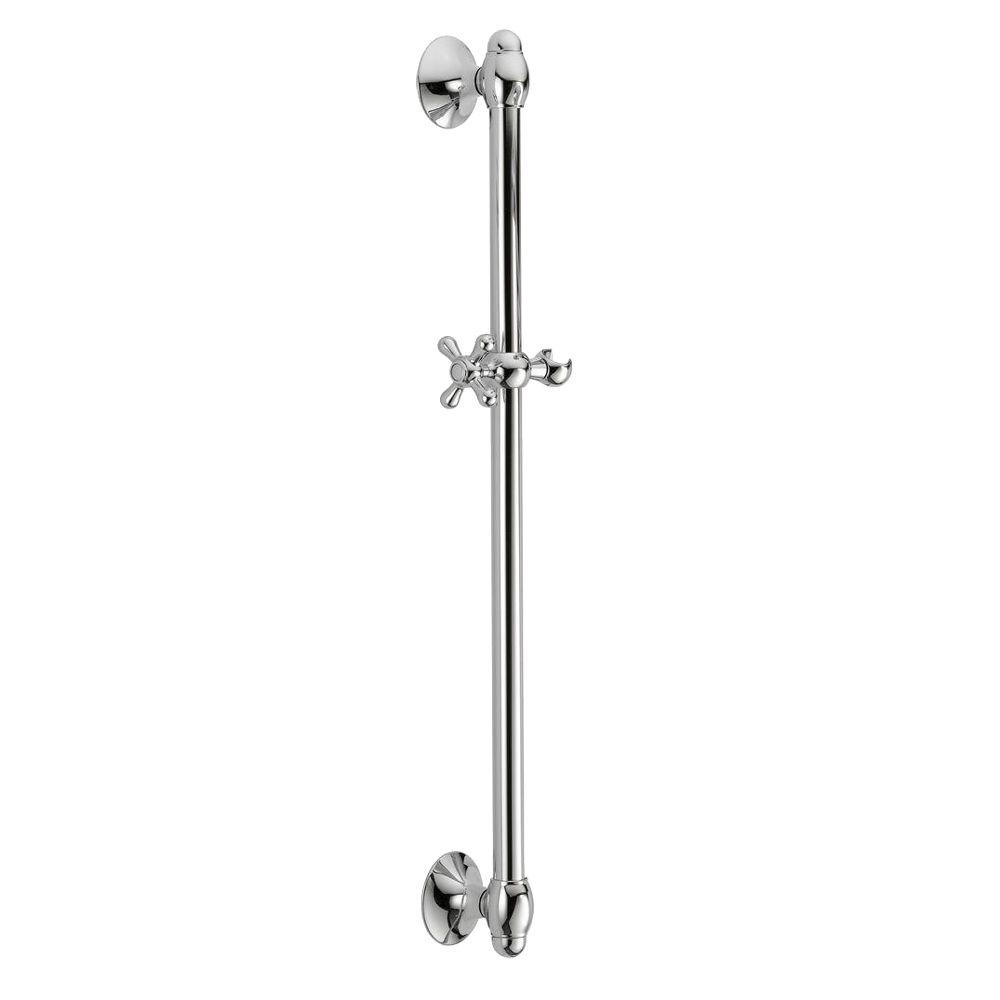 Delta 29 in. Adjustable Wall Bar in Chrome