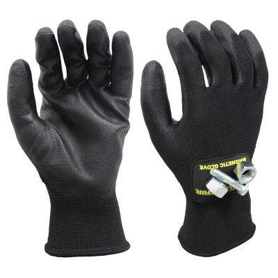 Super Grip Large All Purpose Magnetic Gloves with Touchscreen Technology