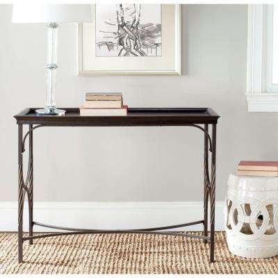 Thomas Dark Walnut Console Table