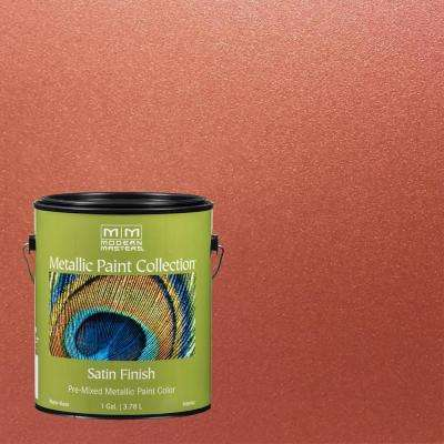 1 gal. Copper Penny Water-Based Satin Metallic Interior Paint