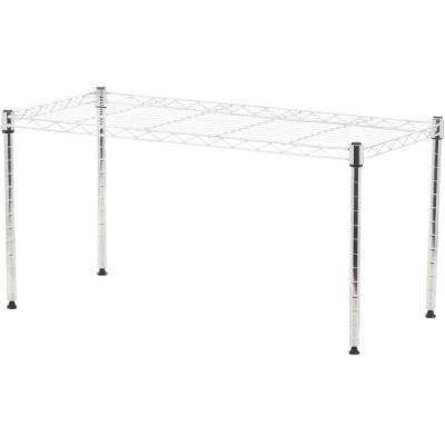 Supreme Shelving Collection 30 in. x 15 in. Supreme Wide Stacking Shelf in Chrome