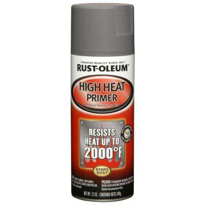 12 oz. High Heat Gray Primer Spray (6-Pack)