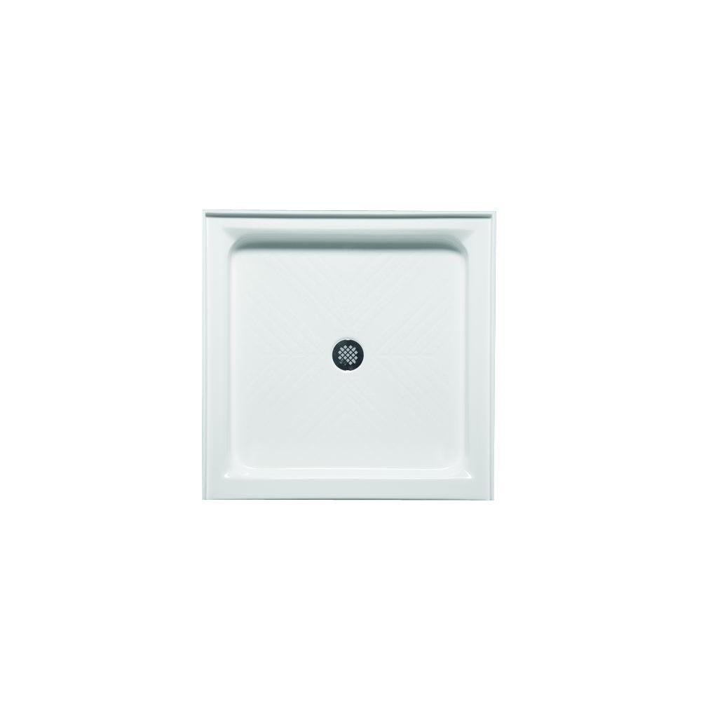 Americh Standard 32 in. x 32 in. Single Threshold Shower Base in Biscuit