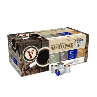 Variety Pack Assorted Roasts and Flavored Coffee Single Serve Cups (96-Pack)
